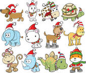 Cattle clipart christmas #15