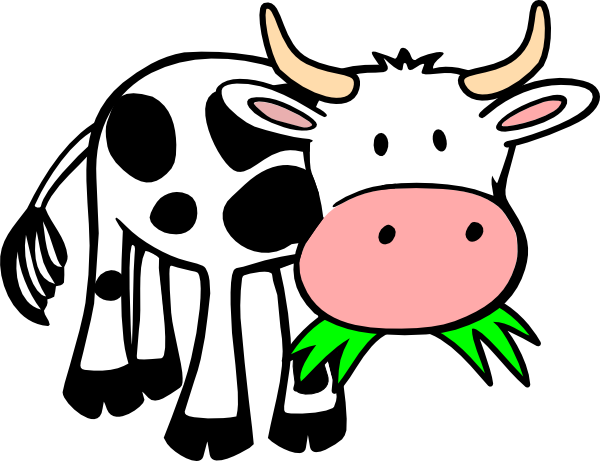 Cattle clipart cow family #5