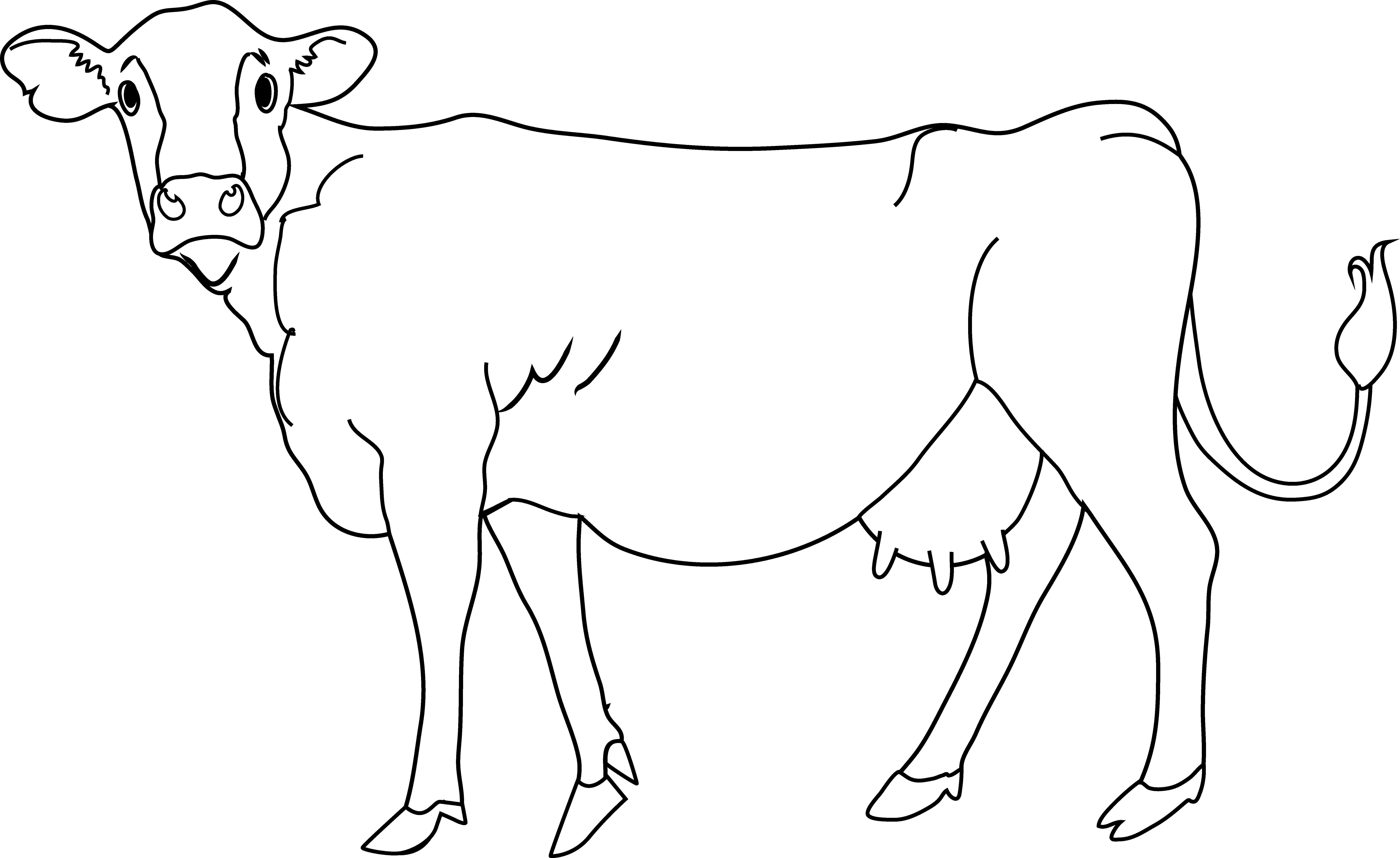 Cattle clipart white background Clip Free A Page Free