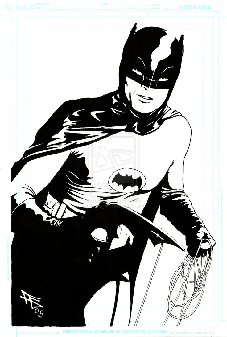 Catwoman clipart 70's And 83 Batman on Pin