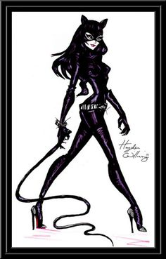 Catwoman clipart cat lady Cliparts Cliparts Zone Clip art