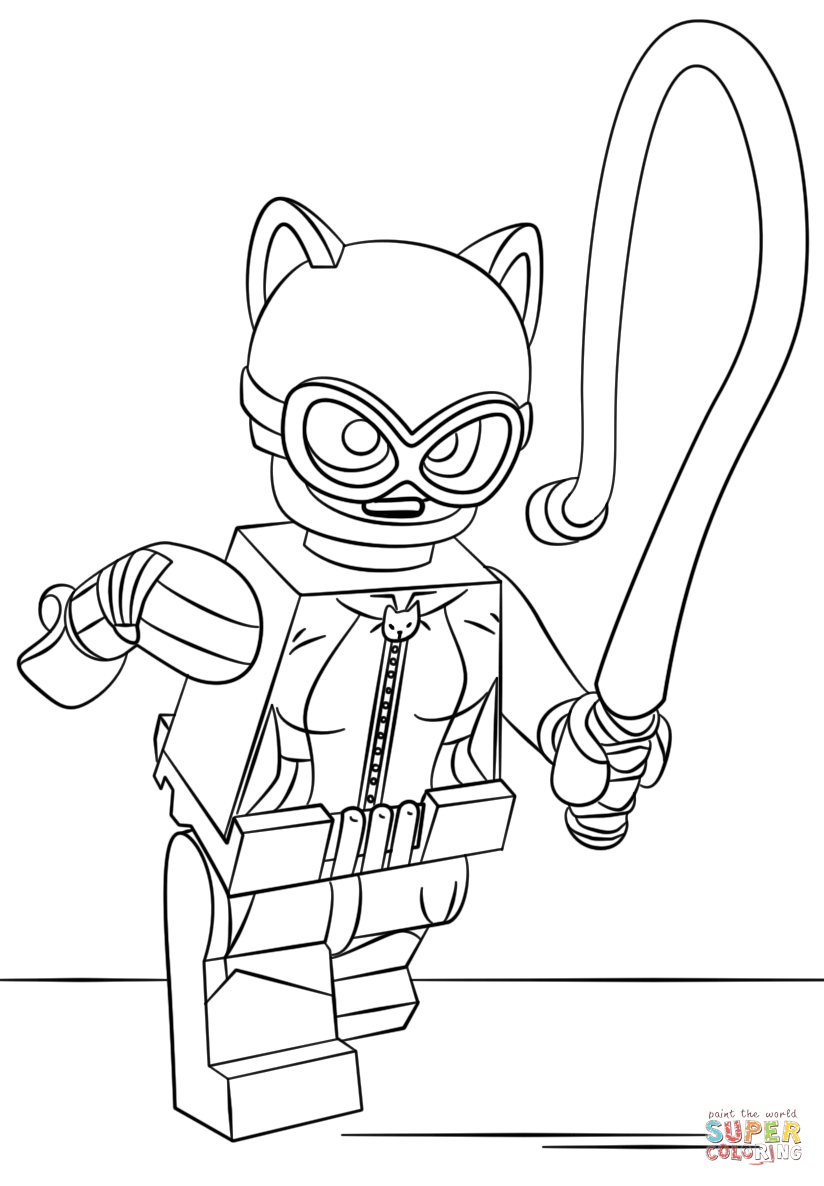 Catwoman clipart coloring page Android pages Catwoman to coloring