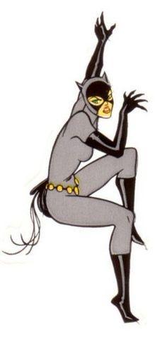 Catwoman clipart grey  Pinterest Catwoman TheBatAndTheCat Animated