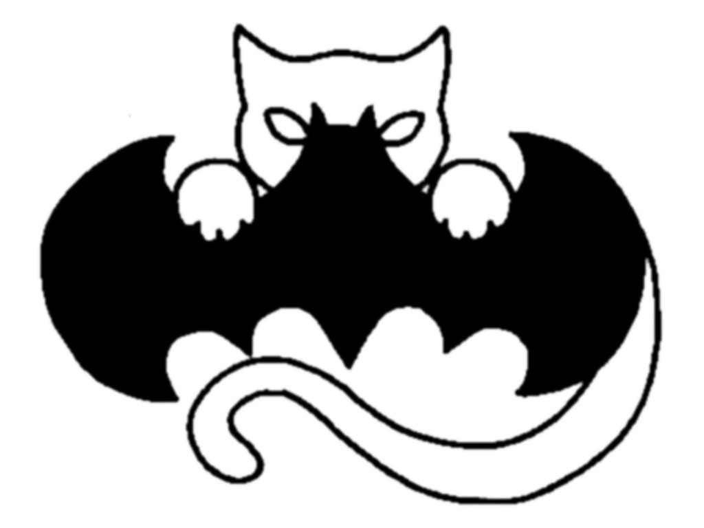 Catwoman clipart logo Blackpanther1307 on Symbol CatBat blackpanther1307
