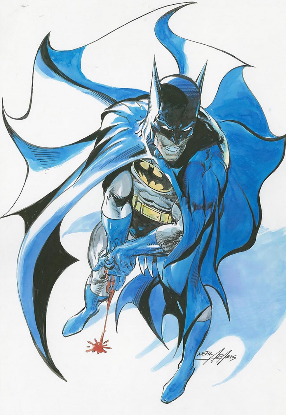 Catwoman clipart neal adams And Batman Superman Neal many