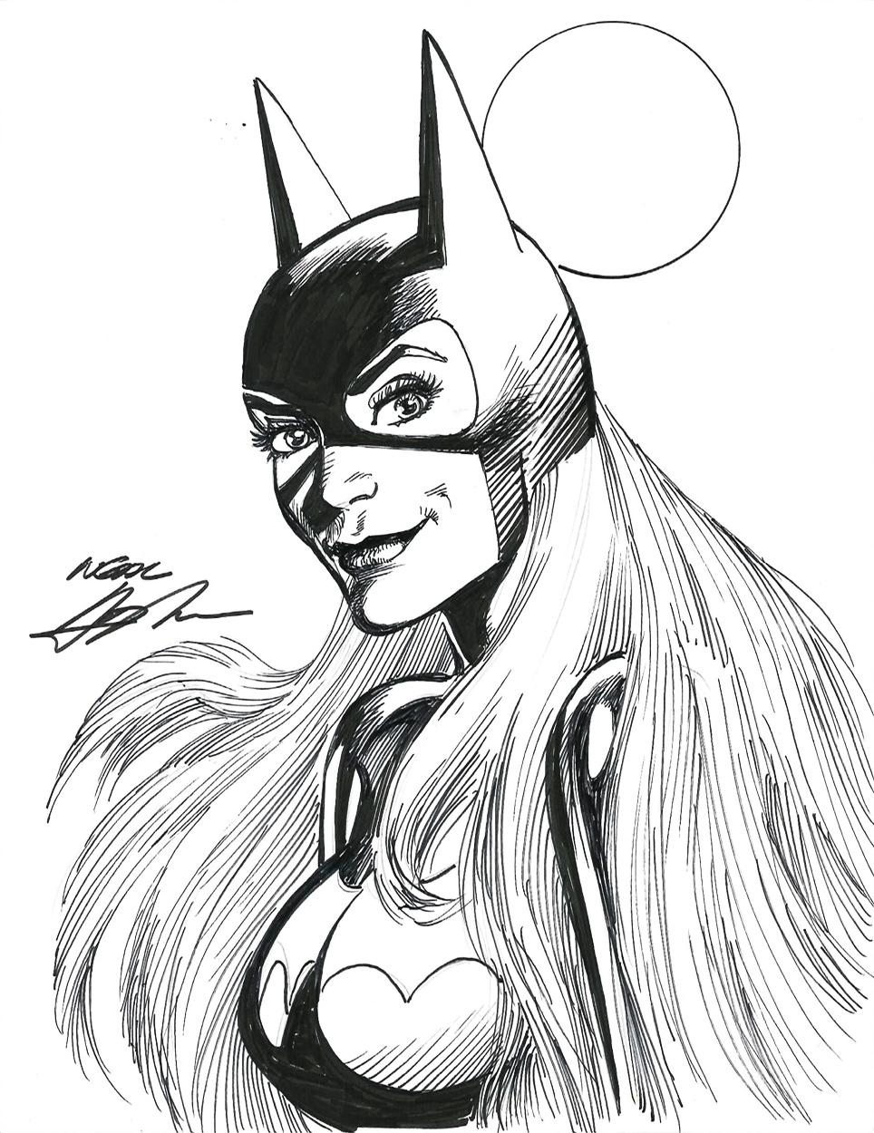 Catwoman clipart neal adams And Neal Batgirl Batgirl