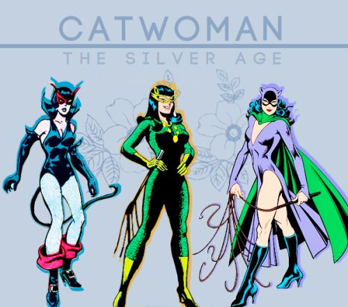 Catwoman clipart silver age 1381 best CatWoman on images