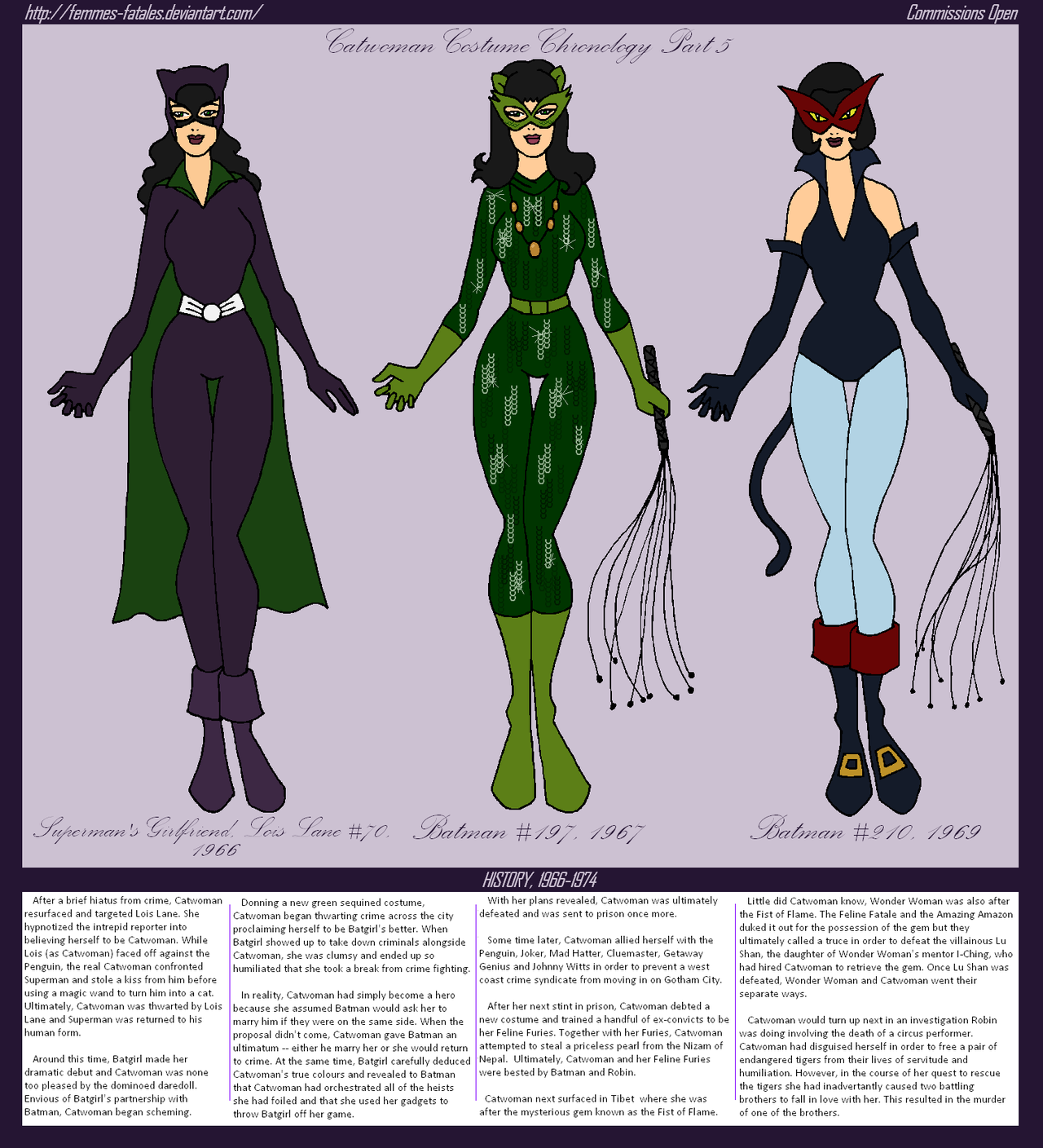 Catwoman clipart silver age 20 Catwoman Costumes by Catwoman