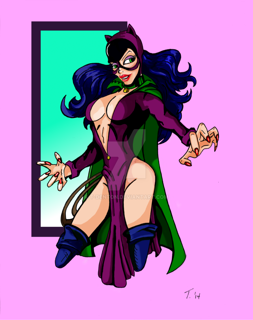 Catwoman clipart silver age (Silver Age) Denton DC on