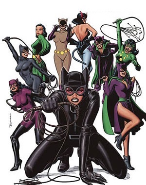 Catwoman clipart silver age DC Comics and tagged Half