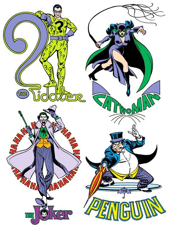 Catwoman clipart the joker Penguin Riddler The Riddler Joker