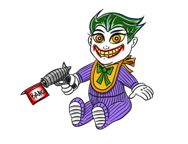 Catwoman clipart the joker Antagonists lines of it asked
