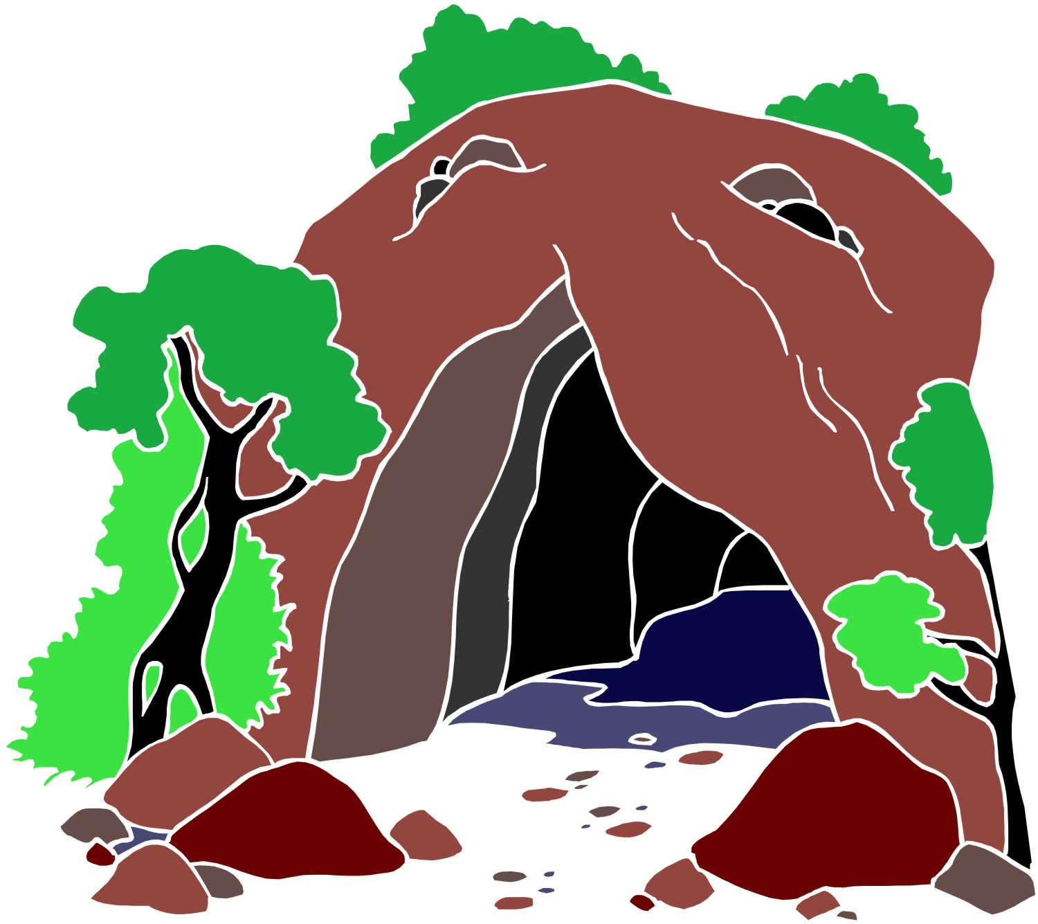 Cavern clipart claustrophobia Cave Images Clipart Clip Free