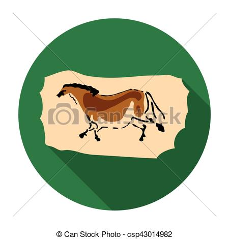 Cave clipart icon Background in  on painting