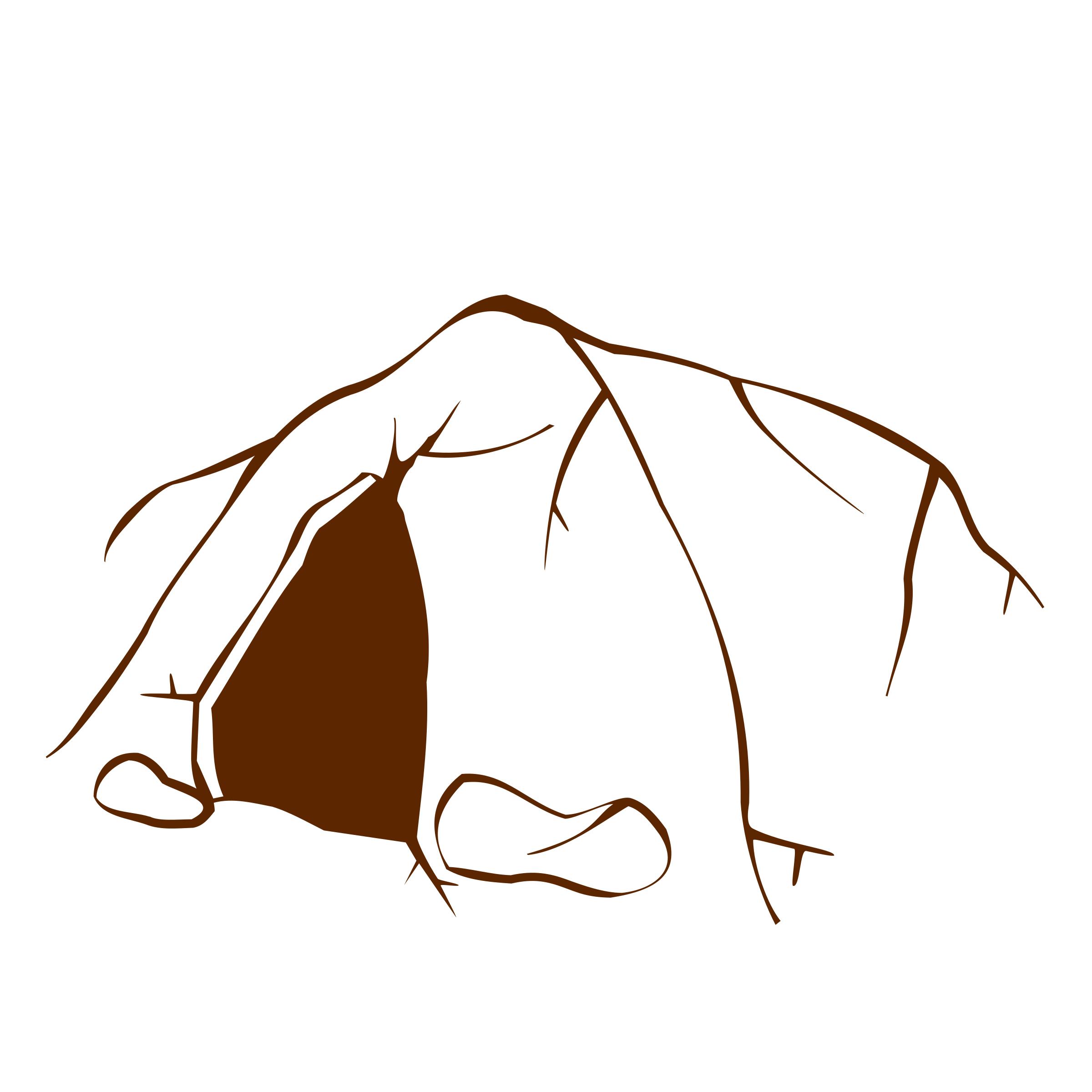 Cave clipart icon Symbols RPG map Cave 2