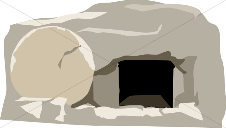 Cave clipart jesus tomb Free collection Open clipart Tomb
