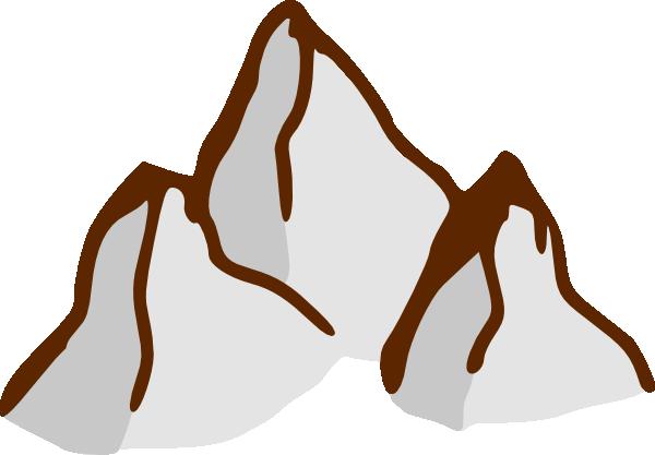 Peak clipart high mountain Com Art Clker 4 Clip