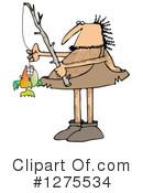Caveman clipart fishing Caveman 1 Clipart #1275534 Free