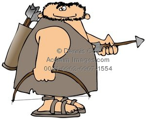 Caveman clipart hunting Clipart Keywords C Suggestions for
