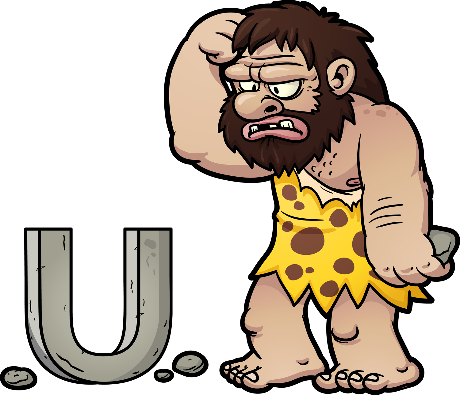Caveman clipart neanderthal Says Confused the the