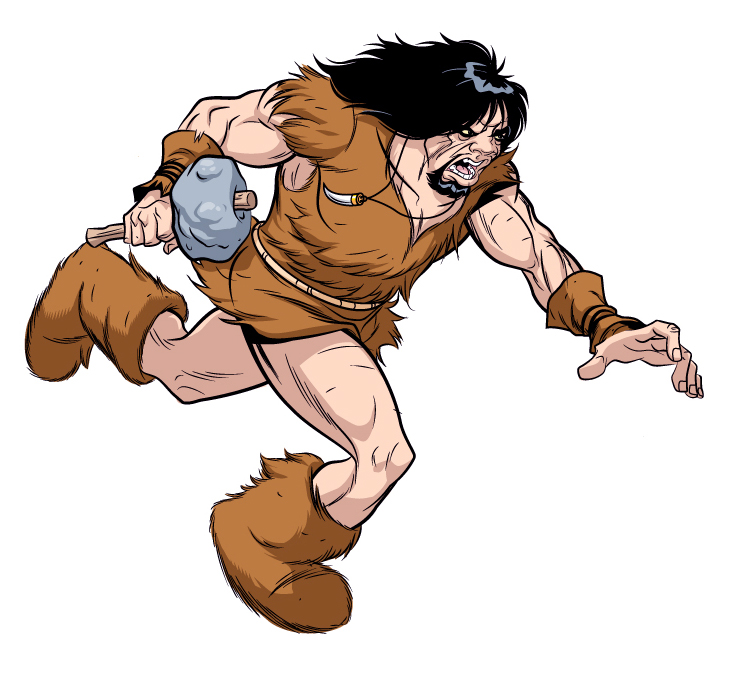 Caveman clipart neanderthal Panda caveman%20clipart Caveman Clipart Free