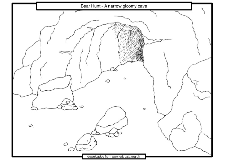 Cavern clipart bear hunt #1
