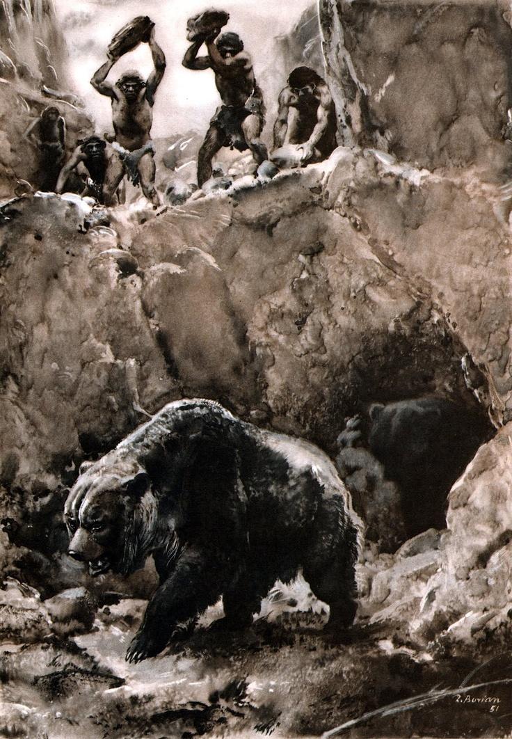 Cavern clipart bear hunt #7