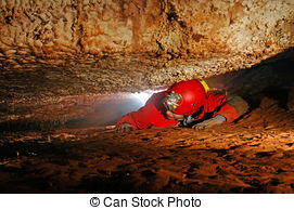 Cavern clipart claustrophobia Narrow of Photography Stock a