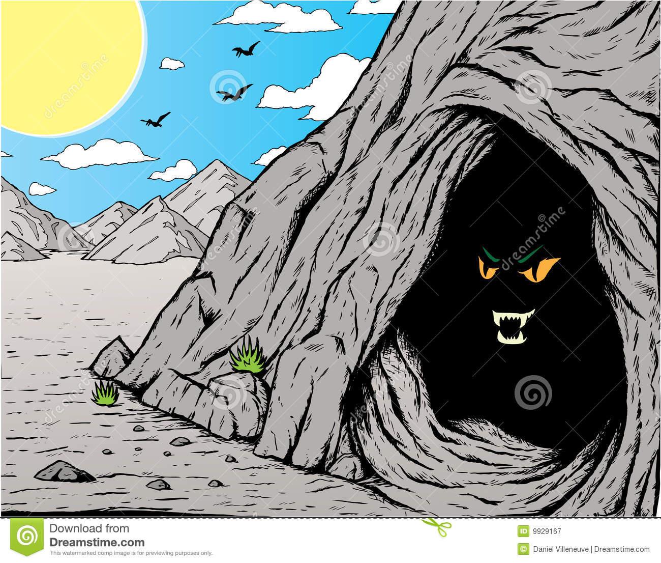 Drawn cavern vector Cavern Cavern clipart Download Cavern