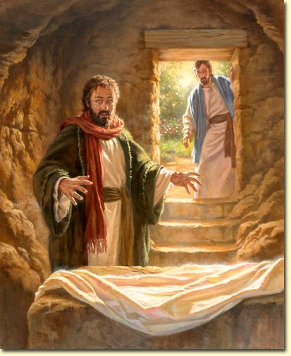 """Cavern clipart empty tomb Guards """" outside images Johan"""