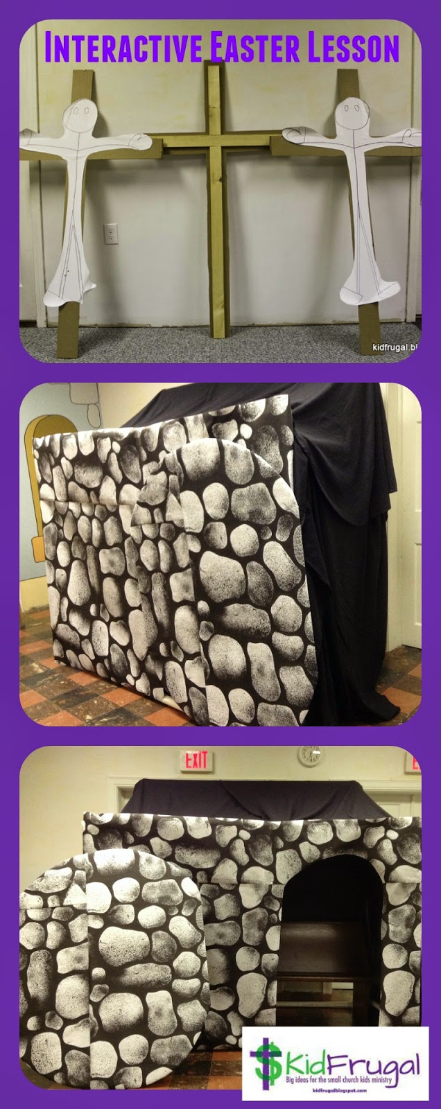 Cavern clipart empty tomb Kidfrugal: tomb The tomb Easter
