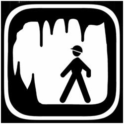 Cave clipart icon Search clipart tour Google cave