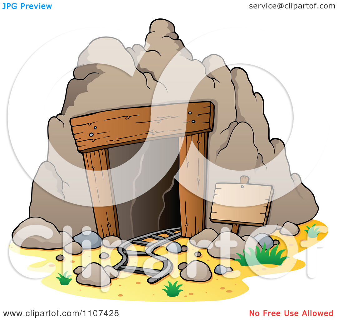 Cavern clipart mine Entrance Entrance Cave Clip –