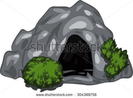 Cavern clipart mountain cave Cave Exploring Clipart Zone Cliparts