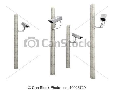 Cctv clipart pole Cams Art of Cams CCTV