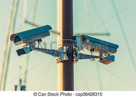 Cctv clipart pole Cameras Photography of Cameras the