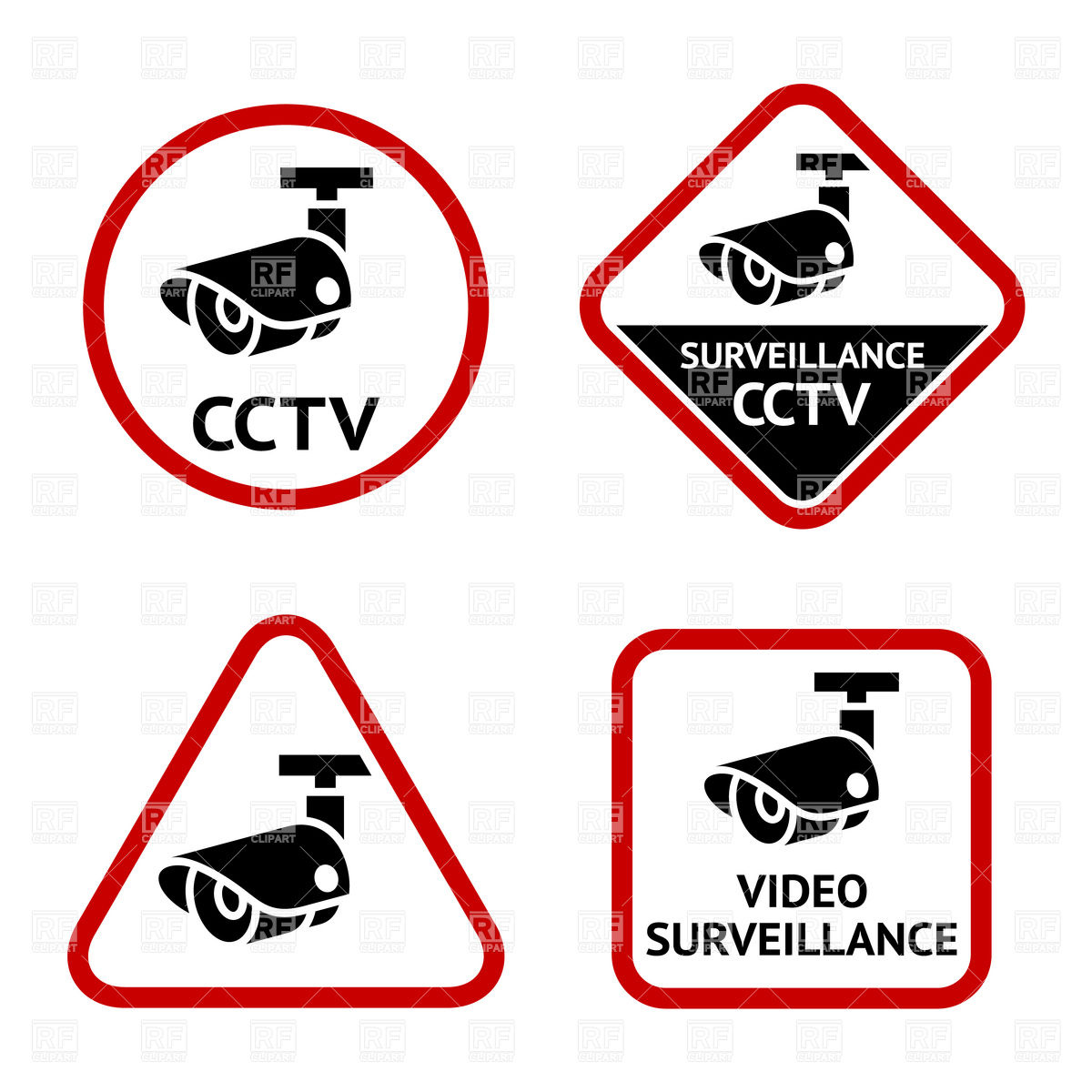 Cctv clipart security system #2