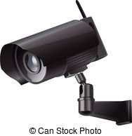 Cctv clipart video surveillance camera Sign CCTV symbol of Video