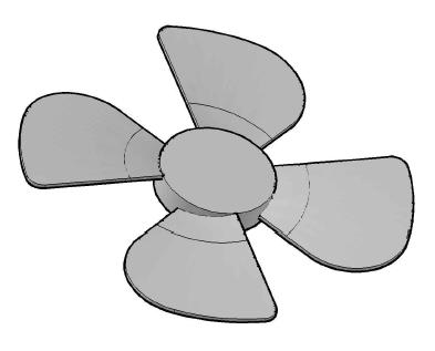 Ceiling clipart elesi A blade Modeling com fan