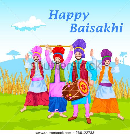 Celebration clipart baisakhi Of Behance ayee easy celebration