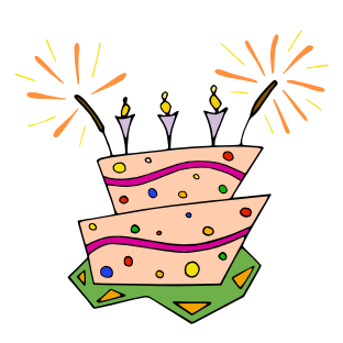 Celebration clipart birthday Birthdays Free collection clipart clipart