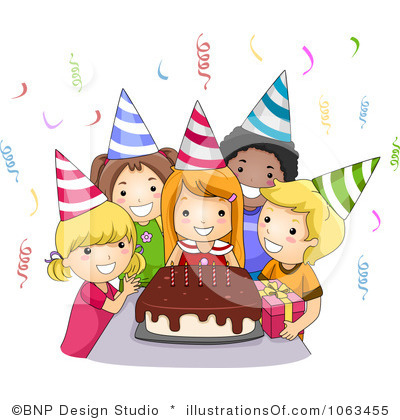 Decoration clipart celebration  Celebration Clip Birthday Art