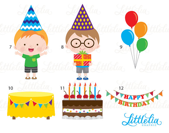 Celebration clipart cartoon Clipart digital clipart file
