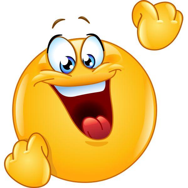 Celebration clipart emoji Pinterest on Cheering Smiley best