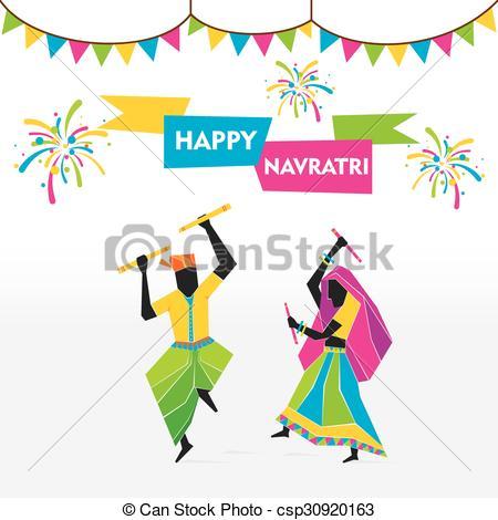 Celebration clipart festival Festival Clip of navratri navratri