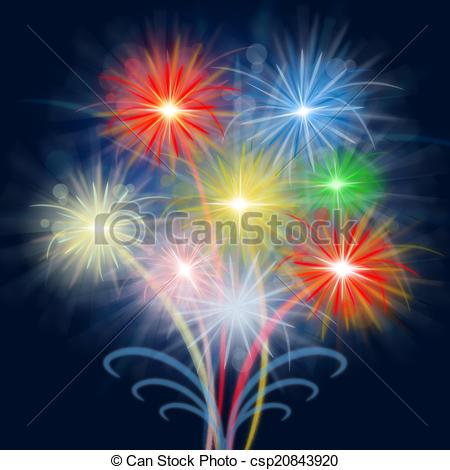 Celebration clipart firework explosion Shows Celebration Fireworks Explosion Background