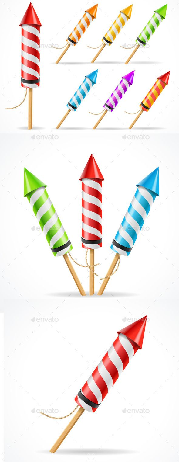 Celebration clipart firework rocket Best ideas Rocket Pinterest Set