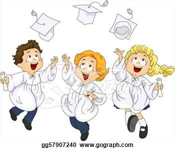Celebration clipart graduation day Cartoon Car Teacher Graduation Kindergarten