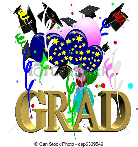 Celebration clipart graduation day Illustration celebration graduation Stock of