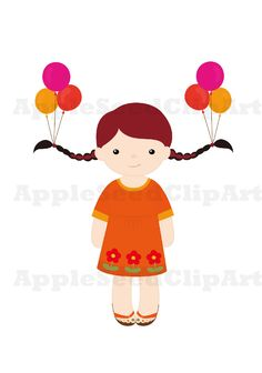 Celebration clipart graduation day Girls Digital Art  Art